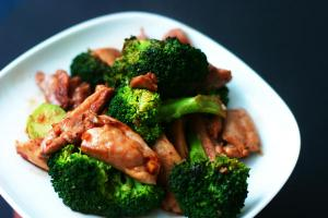 Chicken and broccoli - healthy eating