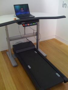 Treadmill multi-tasking